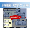 別寝室-理想と現実