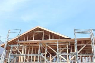 木造の構造体の工事