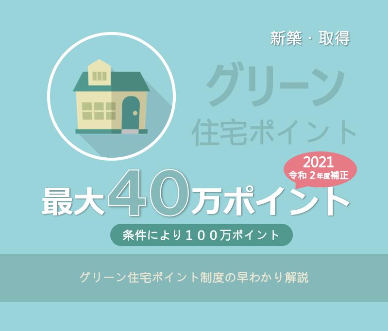 2021 ポイント グリーン 住宅