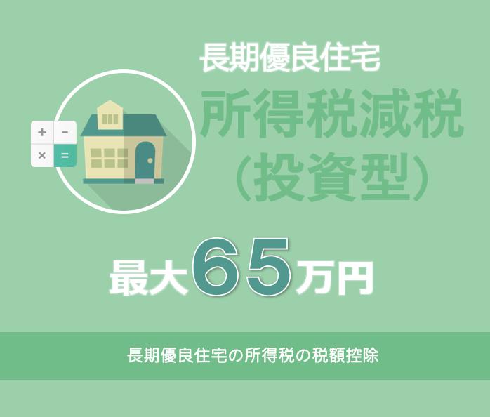 長期優良住宅の所得税の税額控除(投資型減税)